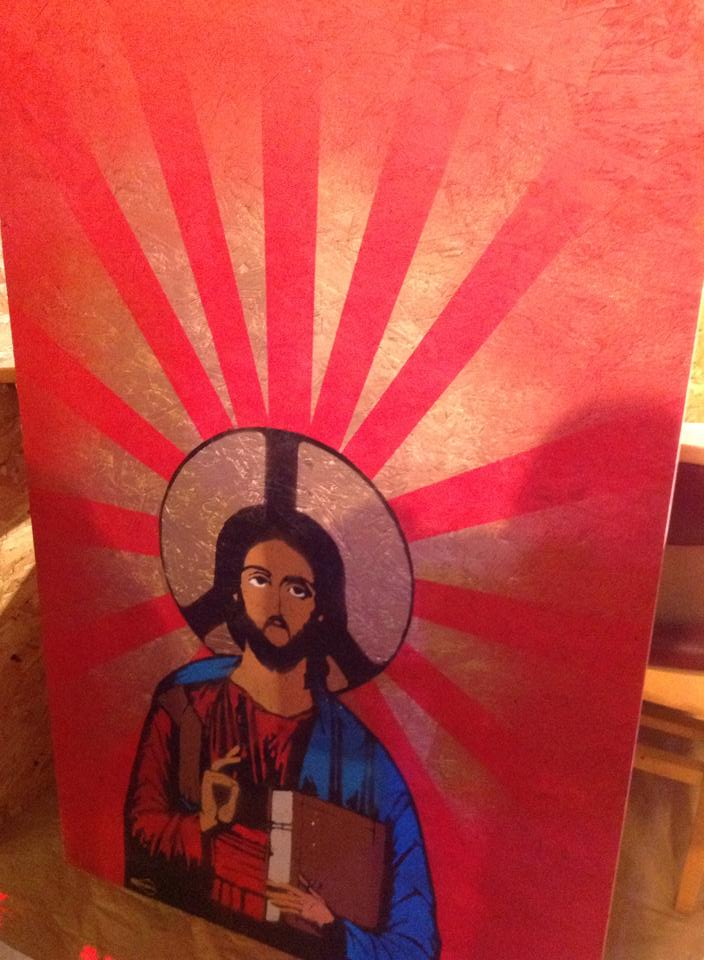 Jesus Peace Icon